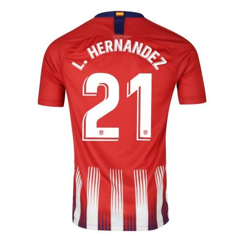 MAILLOT ATLETICO MADRID HERNANDEZ DOMICILE 2018-2018
