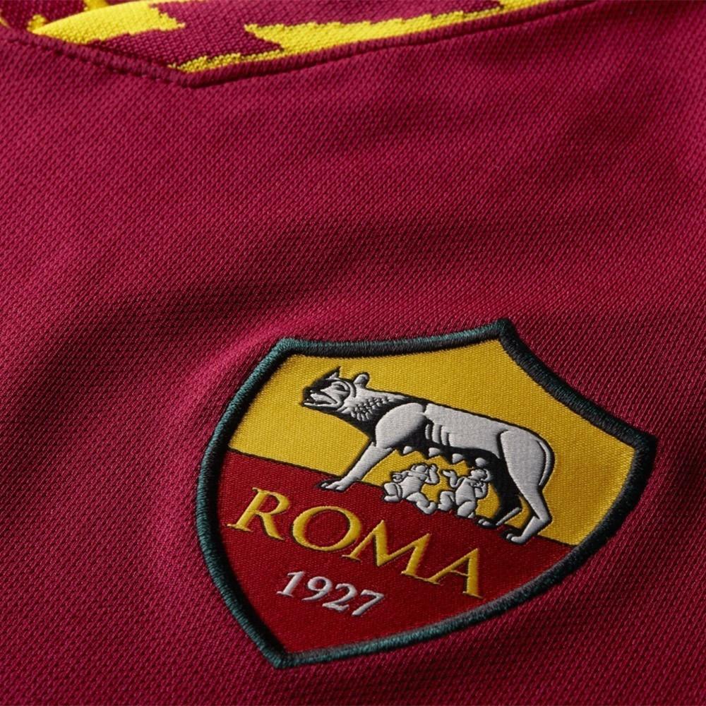 PACK AS ROMA DOMICILE. ENSEMBLE ADULTE MAILLOT ET SHORT 2019-2020