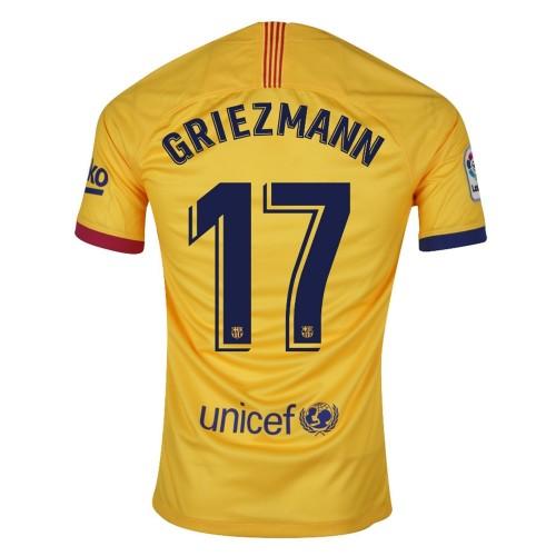 MAILLOT FC BARCELONE GRIEZMANN EXTERIEUR 2019-2020