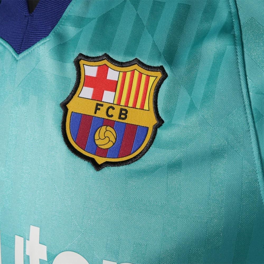 PACK FC BARCELONE THIRD. ENSEMBLE ADULTE MAILLOT ET SHORT 2019-2020