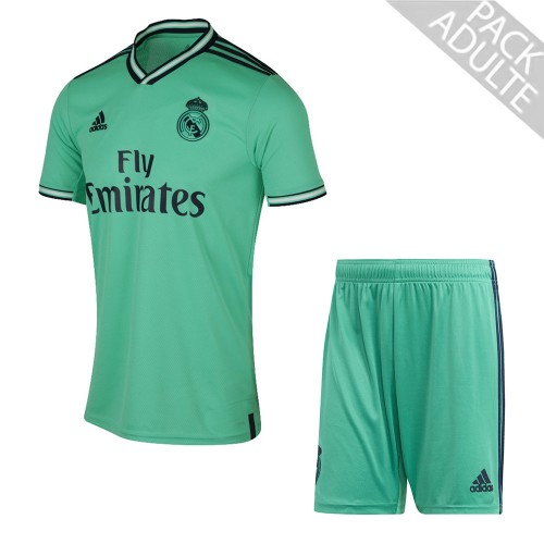 PACK REAL MADRID THIRD. ENSEMBLE ADULTE MAILLOT ET SHORT 2019-2020