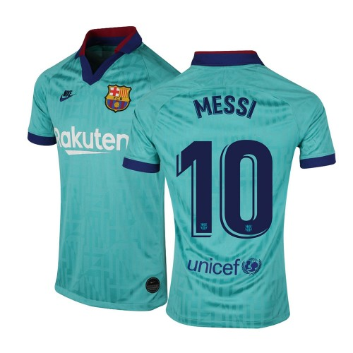 MAILLOT FC BARCELONE MESSI THIRD 2019-2020