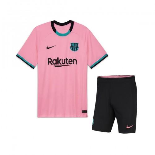 PACK JUNIOR FC BARCELONE THIRD. ENSEMBLE MAILLOT ET SHORT 2020-2021