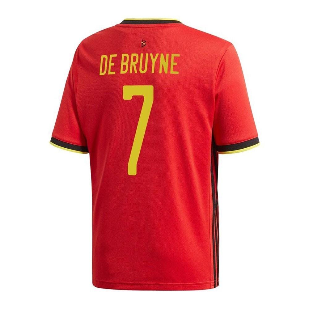 MAILLOT BELGIQUE DOMICILE DE BRUYNE 2020-2021