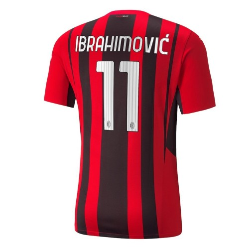 MAILLOT MILAN AC DOMICILE IBRAHIMOVIC 2021-2022