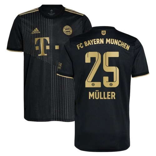 MAILLOT BAYERN MUNICH EXTERIEUR MULLER 2021-2022