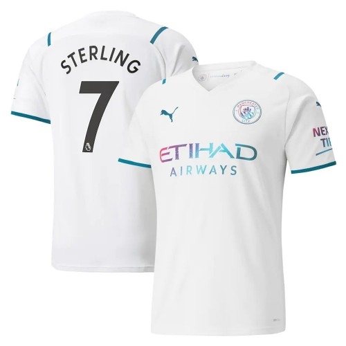 MAILLOT MANCHESTER CITY EXTERIEUR STERLING 2021-2022
