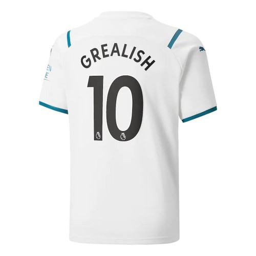 MAILLOT MANCHESTER CITY EXTERIEUR GREALISH 2021-2022