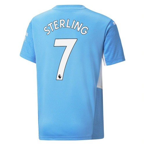 MAILLOT MANCHESTER CITY DOMICILE STERLING 2021-2022