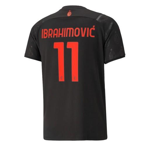 MAILLOT MILAN AC THIRD IBRAHIMOVIC 2021-2022
