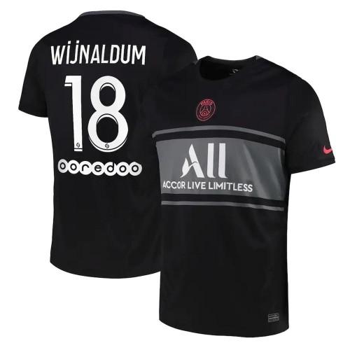 MAILLOT PSG THIRD WIJNALDUM 2021-2022