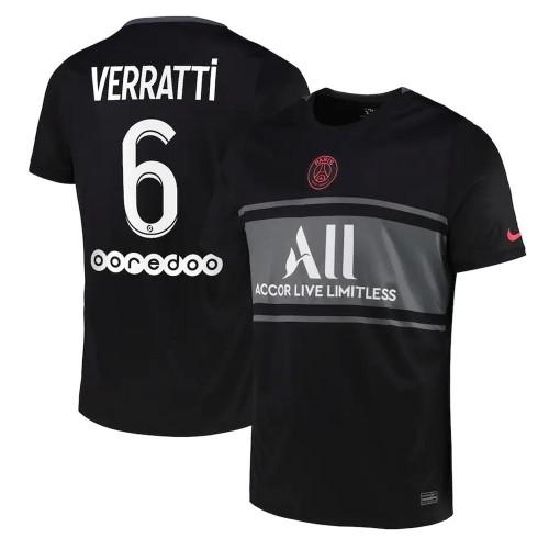 MAILLOT PSG THIRD VERRATTI 2021-2022