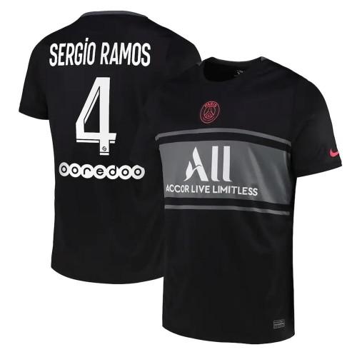 MAILLOT PSG THIRD SERGIO RAMOS 2021-2022