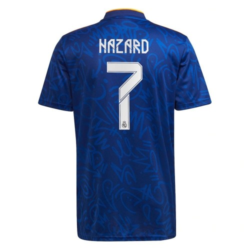 MAILLOT REAL MADRID EXTERIEUR HAZARD 2021-2022