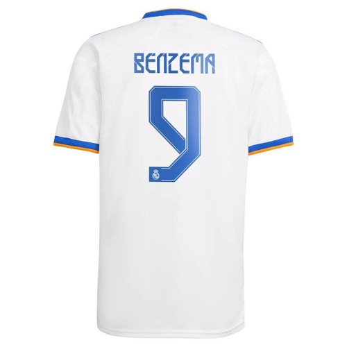 MAILLOT REAL MADRID DOMICILE BENZEMA 2021-2022
